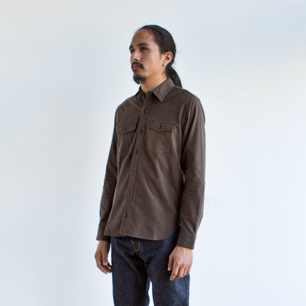 Field Shirt Olive Brown