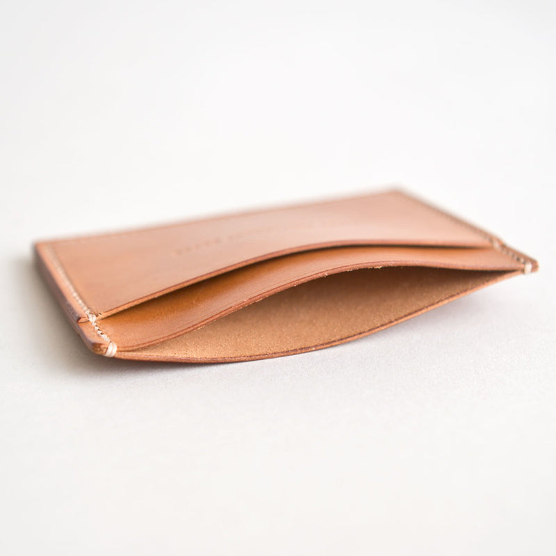 Three Pocket Wallet Vintage Horween Calfskin