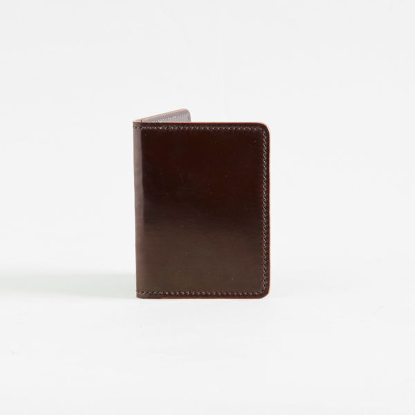 Two Pocket Wallet Color 8 Shell Cordovan