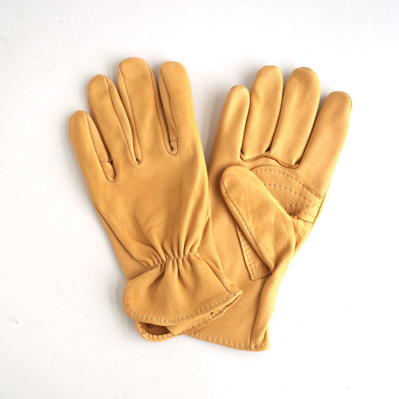 Unlined Deerskin Gloves Saddle