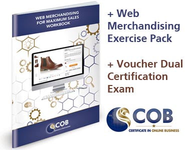 COB Certified E-Business Manager Self-Study Course + E-Commerce Manager Extension Kit + Exam Administration Fees
