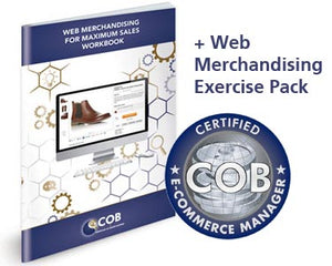 COB Certified E-Business Manager Self-Study Course + E-Commerce Manager Extension Kit