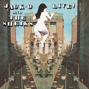 "Jack O  and the Sheiks  ""Live""  LP"