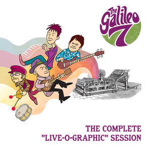 "Galileo 7, The  ""Complete Live - O - Graphic Session""  Ltd  LP"