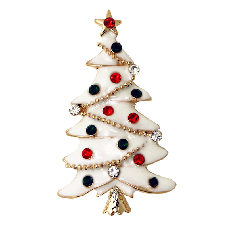 Christmas Tree Brooch Pin Cute Jewelry Christmas Gift – thatgive