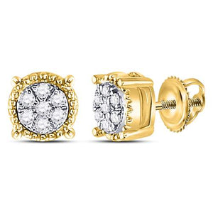 1/10CT-DIA FASHION EARRING