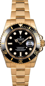 GENTS ROLEX SUBMARINER SPORT WATCH 40MM MODEL 116618 - BLACK CERAMIC, OYSTERLOCK BRACELET