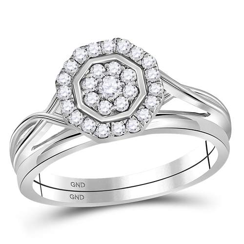 1/3CT-DIA BRIDAL RING