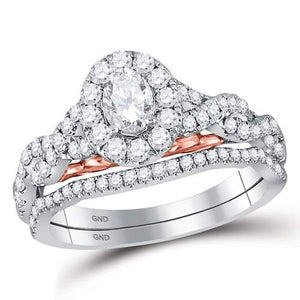1 CT-DIA 1/3 CENTER COVAL BELLISSIMO BRIDAL RING