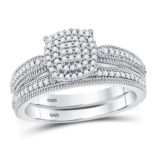 1/3CT-DIA BRIDAL SET