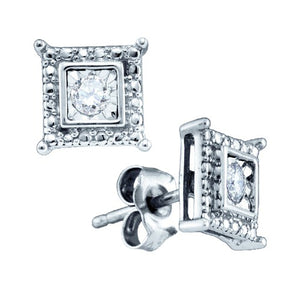 1/20CT-DIAMOND FASHION EARRINGS