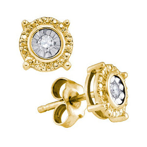 1/20CTW-DIAMOND FASHION EARRINGS