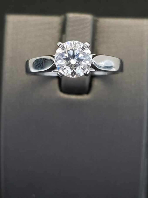 1.06 ct Diamond Engagement Ring Platinum