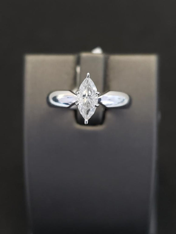 0.63 ct Diamond Engagement Ring Platinum