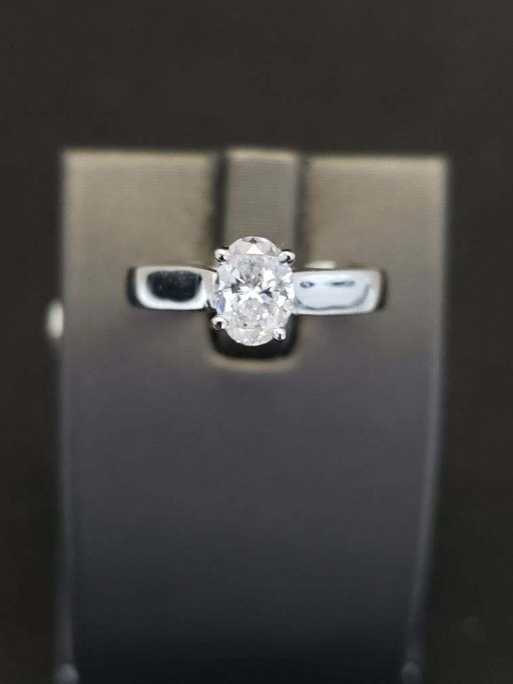 0.80 ct Platinum Diamond Engagement Ring