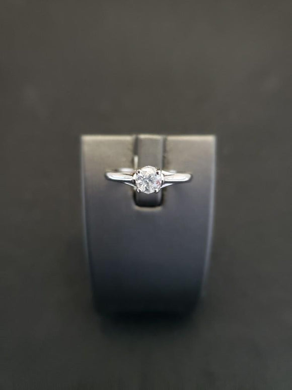 .40 ct Diamond Engagement Ring 14k White Gold