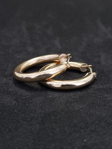 14KT Yellow Gold Hoops