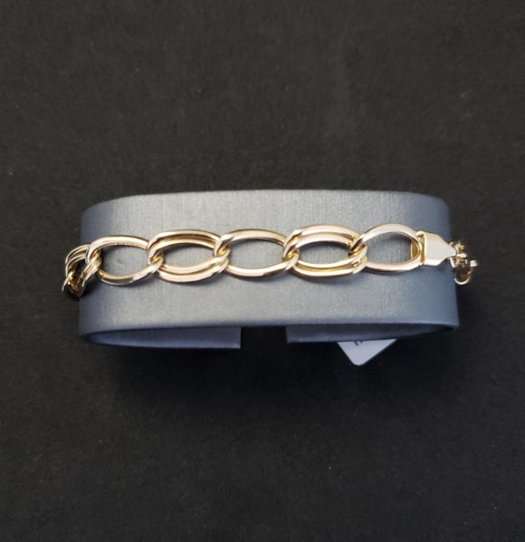 14KT Yellow Gold Fancy Link Bracelet