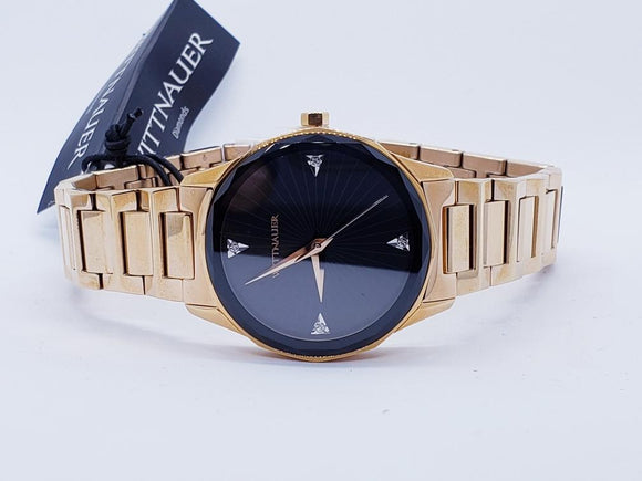 Wittnauer Ladies Stainles Gold Tone Watch
