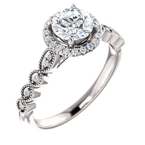 14KW  Diamond  Engagement 3/4CTW