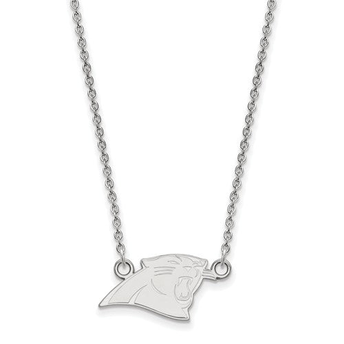 10kw Carolina Panthers Small Pendant With Necklace