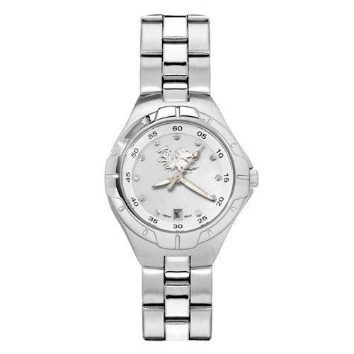 UNIV OF SO CAROLINA C GAMECOCK PEARL WOMAN'S BRACELET WATCH