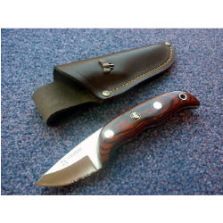 129R Cudeman Stamina Wood Skinning Knife