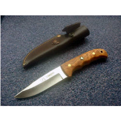 147L Cudeman Olive Wood Sporting Knife