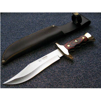 203R Cudeman Stamina Wood Medium Bowie Knife