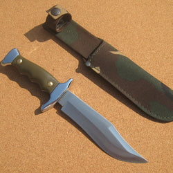 204V Cudeman Green ABS Small Bowie Knife