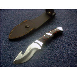 234R Cudeman Stamina Wood Guthook Skinning Knife. Sale Price.