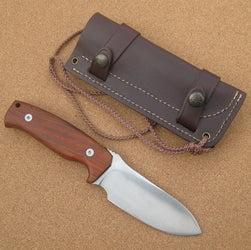 298K Cudeman Cocobolo Wood Survival Knife