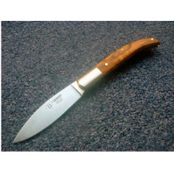 417L Cudeman Olive Wood Bush Craft Folding Knife