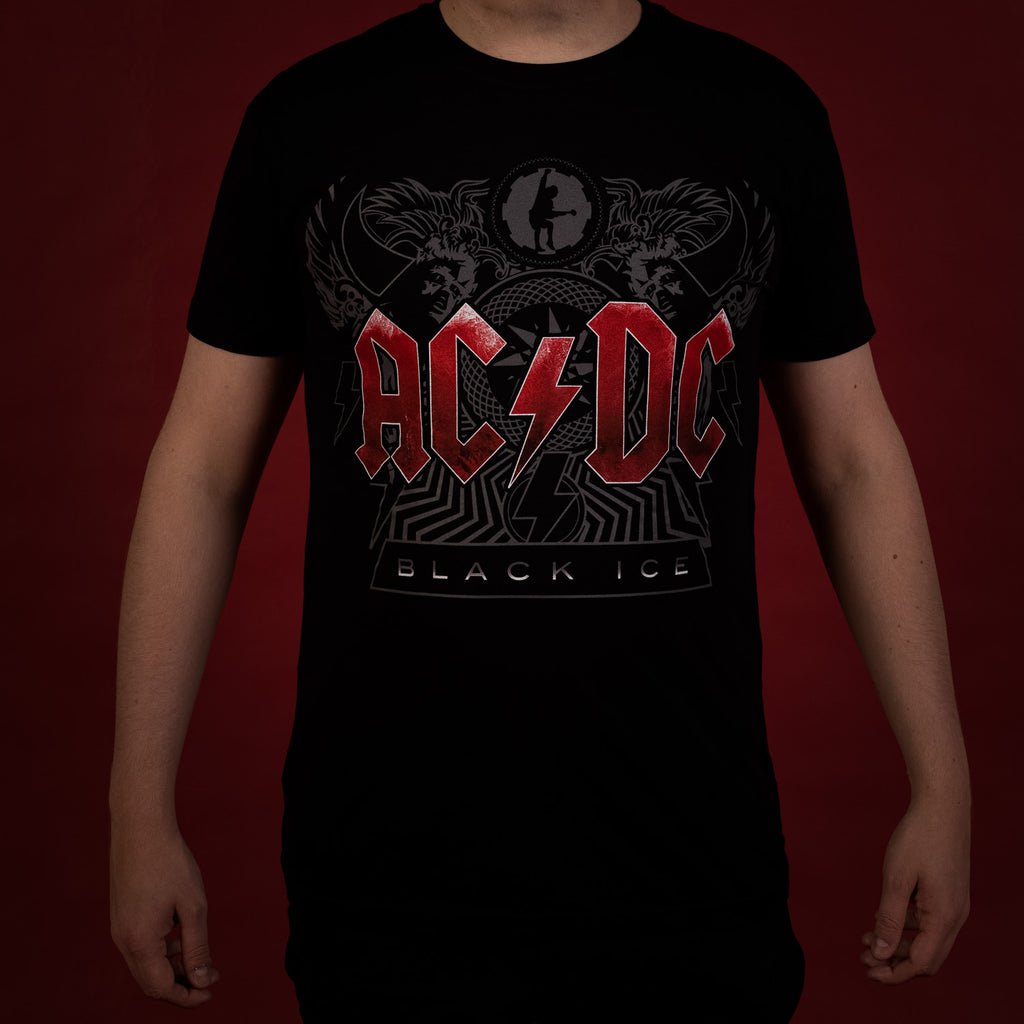 T-shirt AC/DC Black Ice