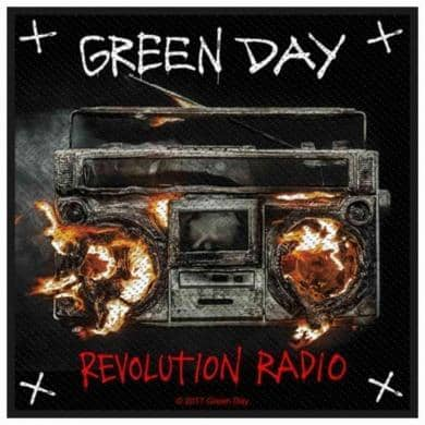 Patch Green Day Revolution Radio - Bravado - Fatima.Dk