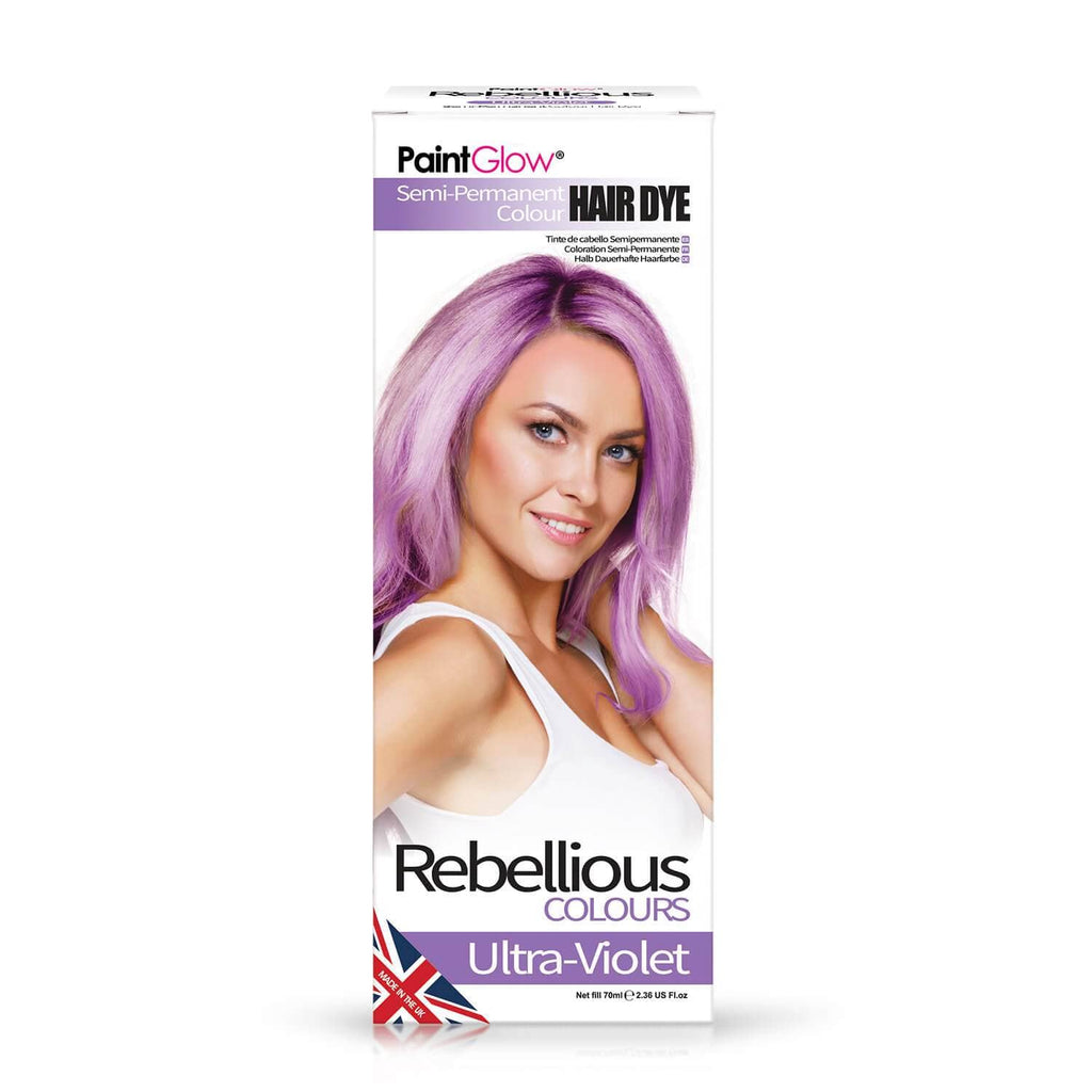 Rebellious Hårfarve Ultra Violet - Rebellious - Fatima.Dk