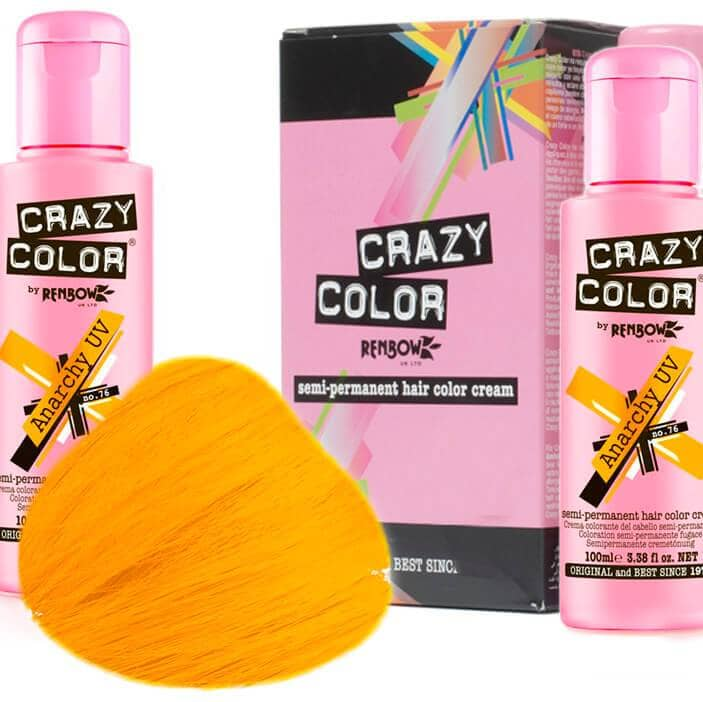 Crazy Color Hårfarve Anarchy UV (100ml) - Crazy Color - Fatima.Dk