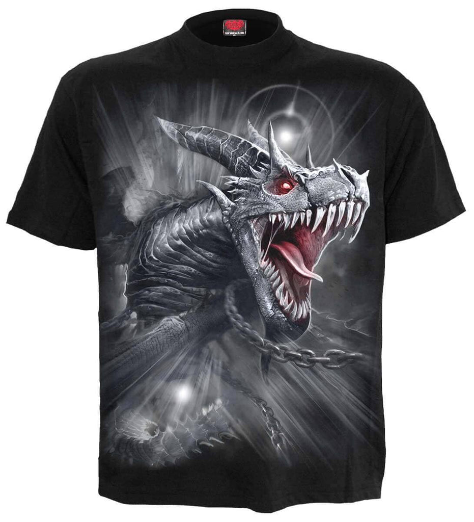T-shirt Spiral Dragons Cry
