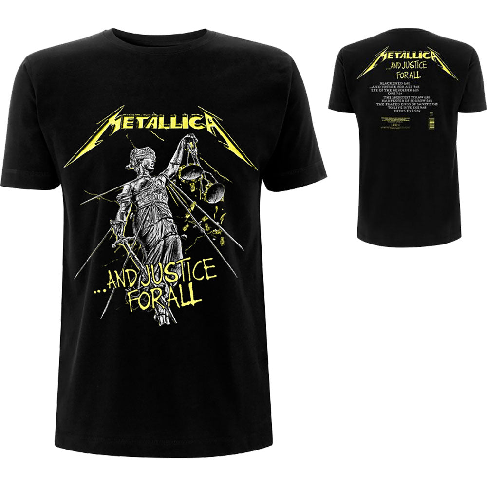 T-shirt Metallica - And Justice For All (Unisex)