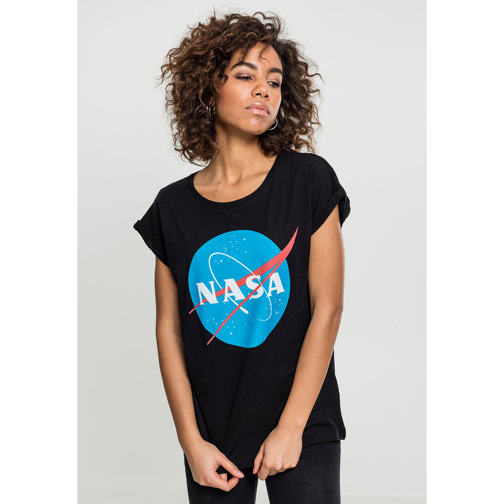 T-shirt NASA Sort