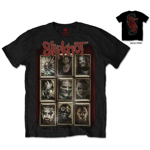 T-shirt Slipknot - New Masks (Unisex)