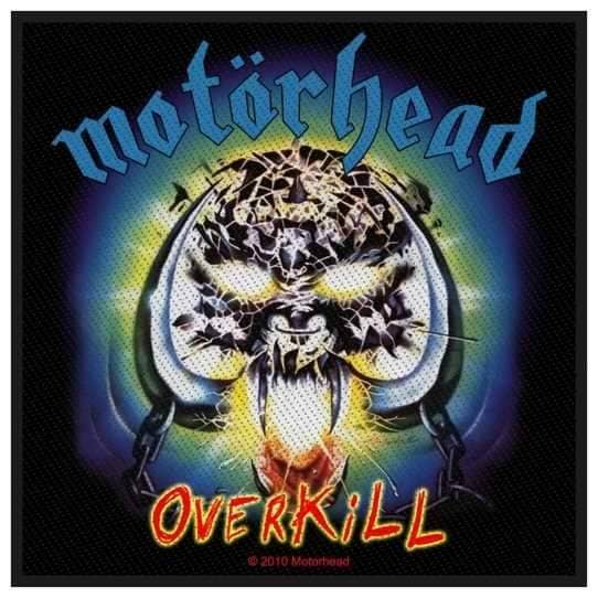 Patch Motorhead - Overkill