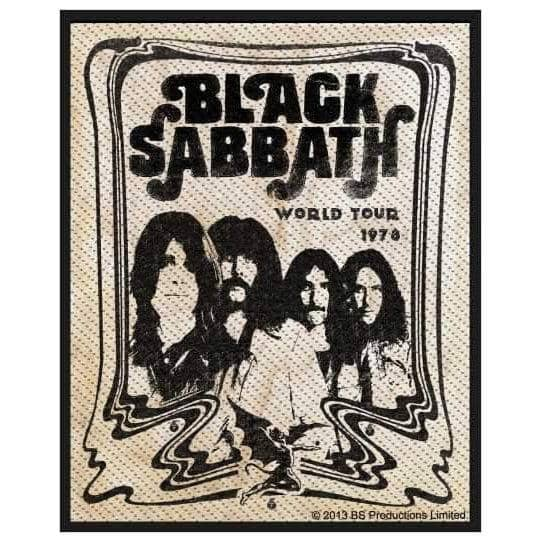 Patch Black Sabbath - Band Poster