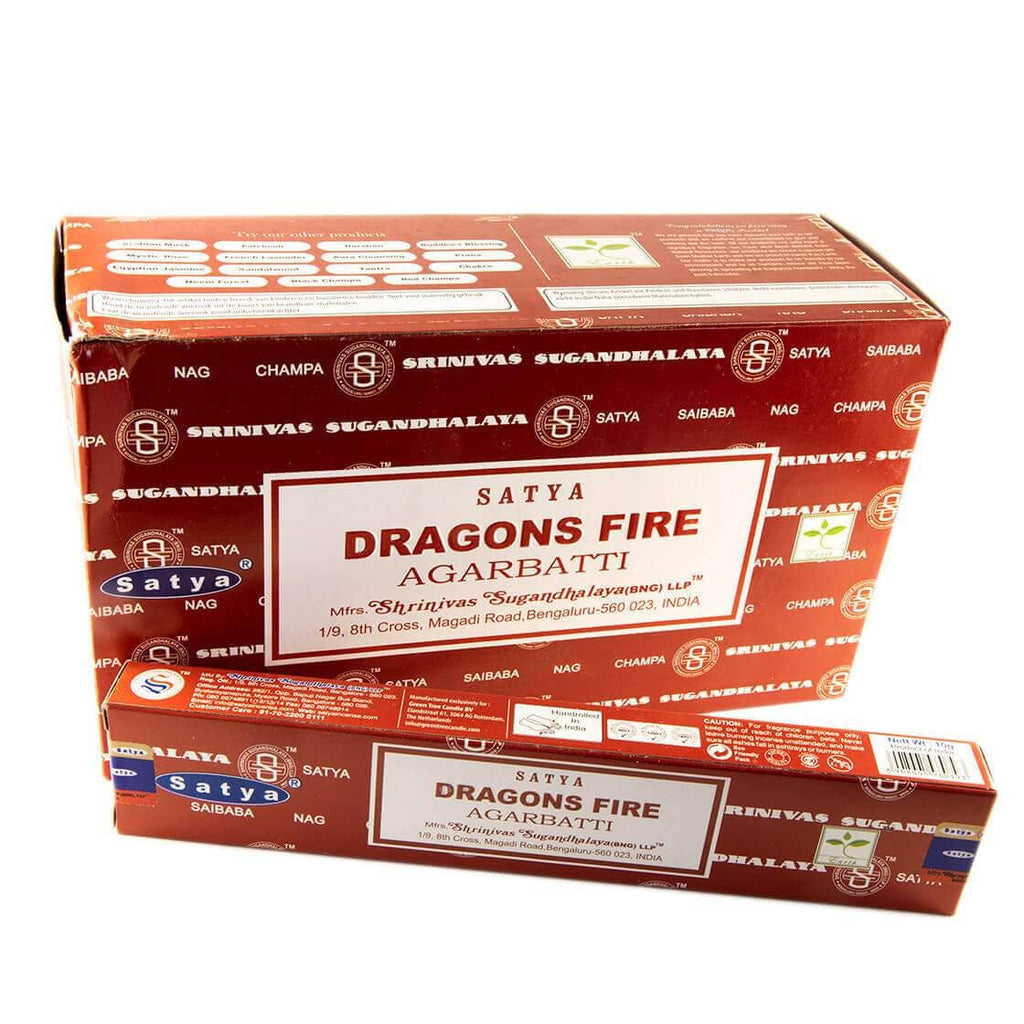 Røgelse Satya Dragons Fire (15g)