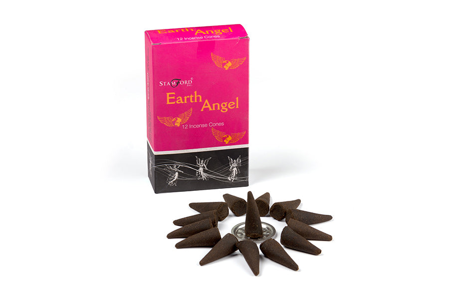 Røgelse Cones Stamford Earth Angel