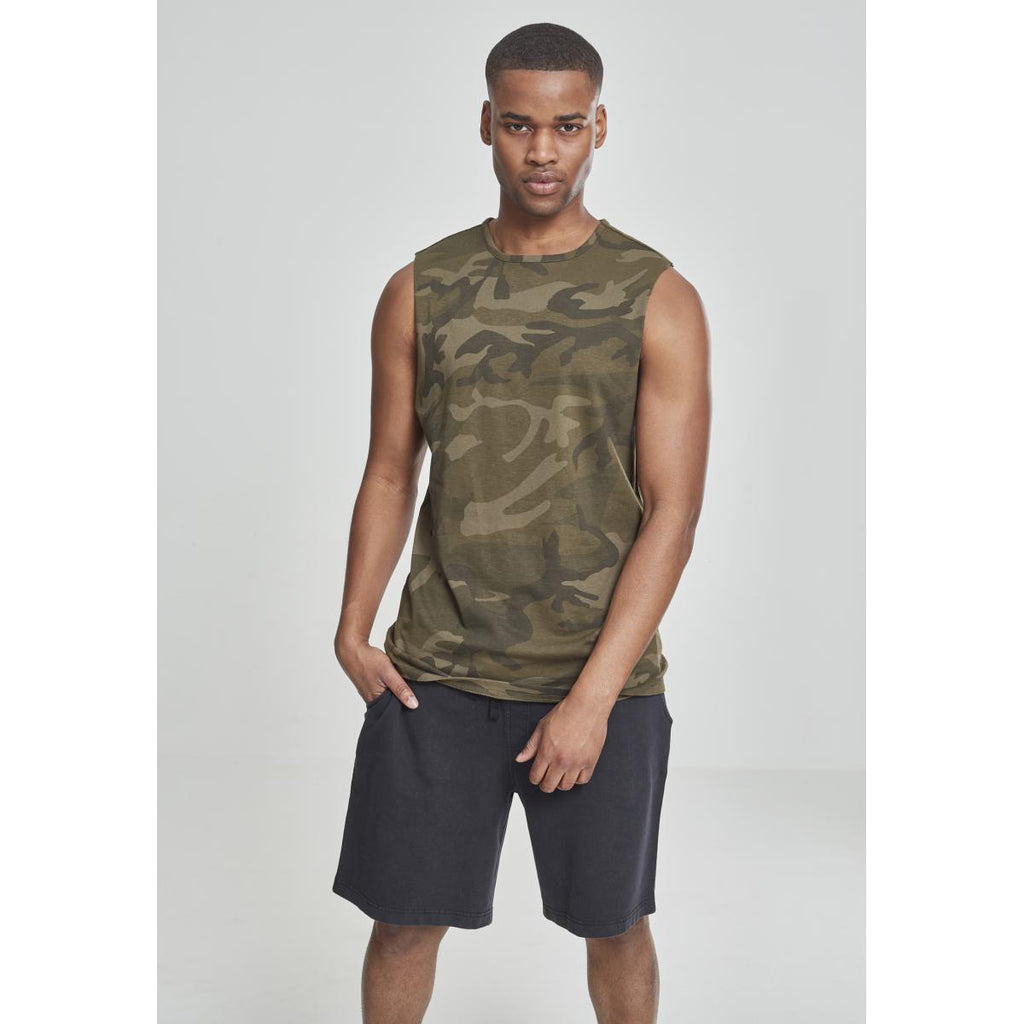 T-shirt Sleveless Military
