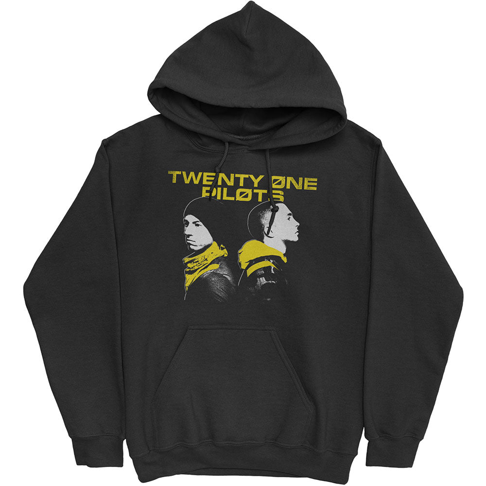Hættetrøje Twenty One Pilots - Back to Back (Unisex)