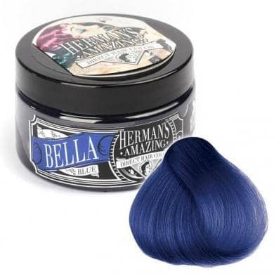 Hermans Hårfarve Bella Blue (115ml) - Hermans - Fatima.Dk