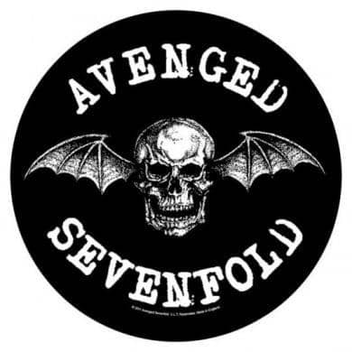 Backpatch Avenged Sevenfold - Bravado - Fatima.Dk
