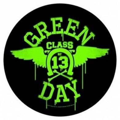Backpatch Green day - Bravado - Fatima.Dk